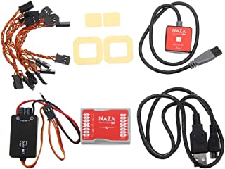 Dnasrivew Multirotor Flight Control System Led Module Accessories for DJI Naza-M Lite for Autopilot/Auto for Futaba S-Bus, Ppm Receiver and Multi-Rotor Types 1