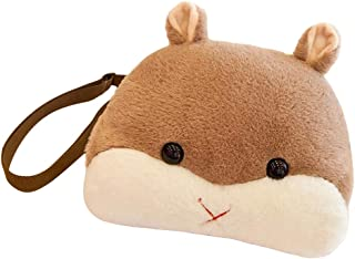 Fenteer Cute Hamster Animals Child Shoulders Bag Kids Book Backpack Baby Girls Bag - Brown