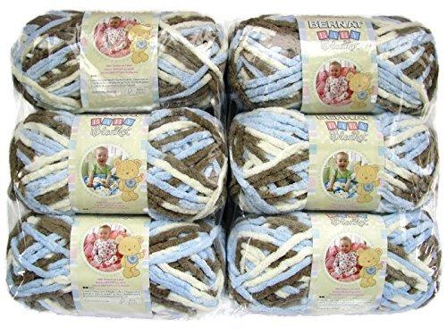 BERNAT Baby Blanket - Pack of 6 Balls - 100G Each Ball - Little Cosmos