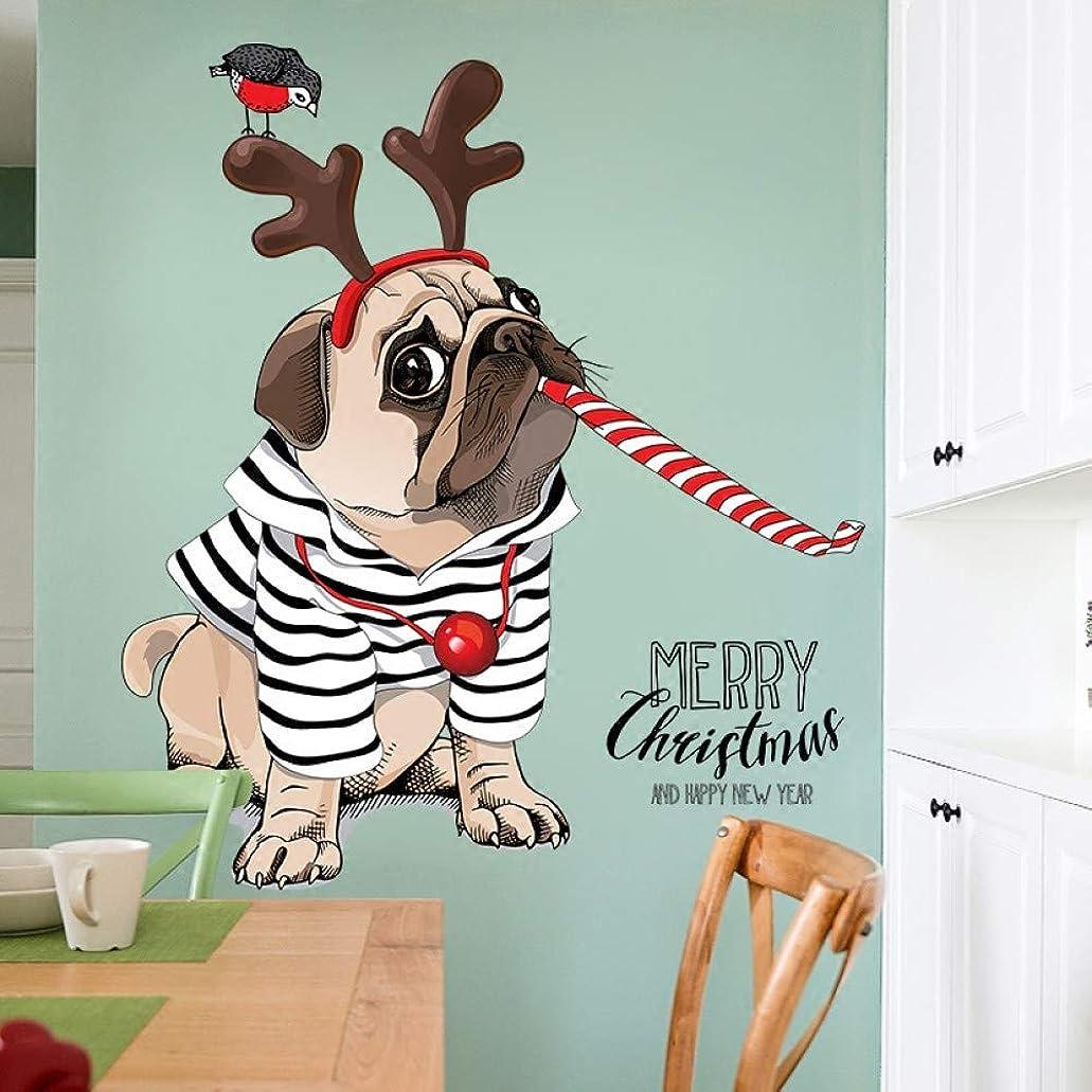胚芽時々時々大使ペットショップの壁の装飾ステッカーペット病院クリニックかわいい漫画犬ウォールステッカードアステッカー自己接着
