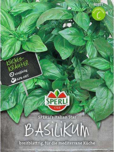 Basilikum SPERLING`s Italian Star