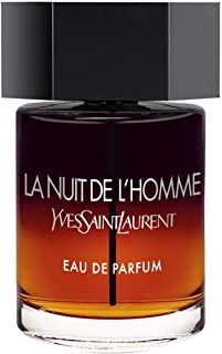 Yves Saint Laurent La Nuit De Lhomme Eau De Parfum Spray For Men (New 2019 Launch), 3.4 Ounce