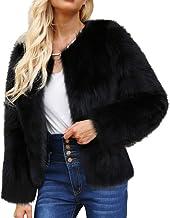 Amazon.es: chaquetas pelo sintetico - Beige