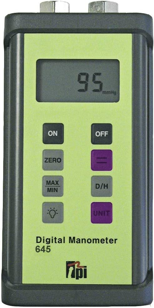 TPI 645 - Dual Input Differential Luxury Long-awaited goods Manometer