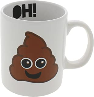 Formation Brands Ceramic Emoji Oh! Poop Mug