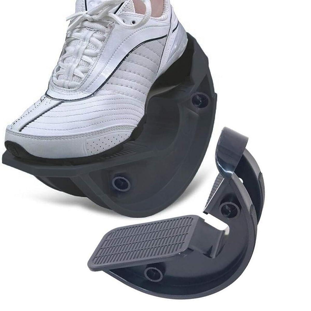 プロ ストレッチ プラス ストレッチングボード フットロッカー 傾斜板 バランスボード アキレス エクササイズ 足つぼ 体幹 運動 (ブラック)