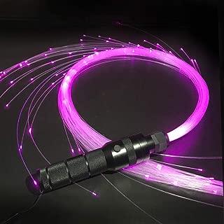 Fiber Optic Whip, 6 Foot 360 degrees Swivel, 40 Mode Effects Super Bright, Light Up Rave Toy - EDM Pixel Flow Lace Dance Festival