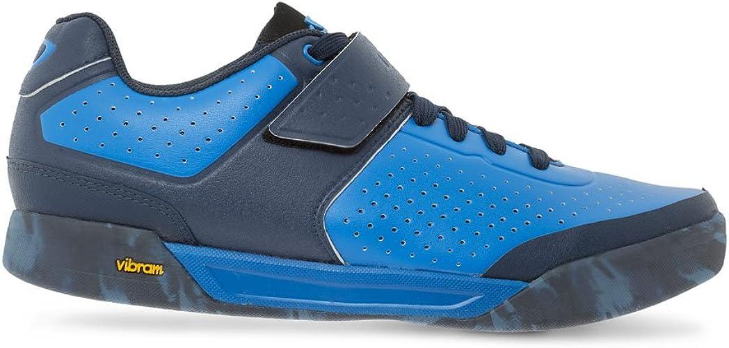 Giro Chamber II, Chaussures de VTT Femme, MultiCouleure (bleu Jewel Midnight 17), 46 EU