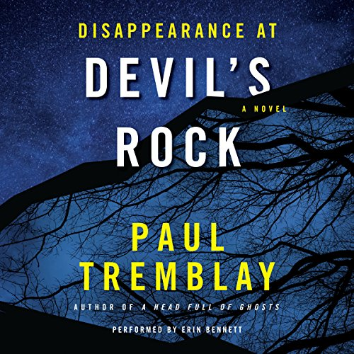 Page de couverture de Disappearance at Devil's Rock