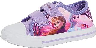 Disney La Reine des neiges 2 Pantoufles Lumineuses pour Fille Elsa Anna Kids avec Doublure Polaire et lumi/ères Clignotantes