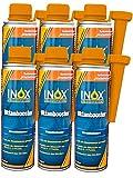 INOX® Additif pour carburant booster, 6 x 250ml - d'indice d'octane convient à tous les moteurs à essence