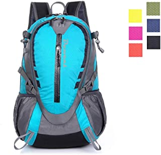 Day Hiking Backpack Chest Waist Strap Small Lightweight Daypack