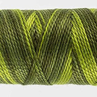 WonderFil Specialty Threads Sue Spargo Eleganza 2-ply #8 Perle Cotton Variegated, Up a Tree #09
