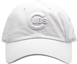 white chicago cubs hat