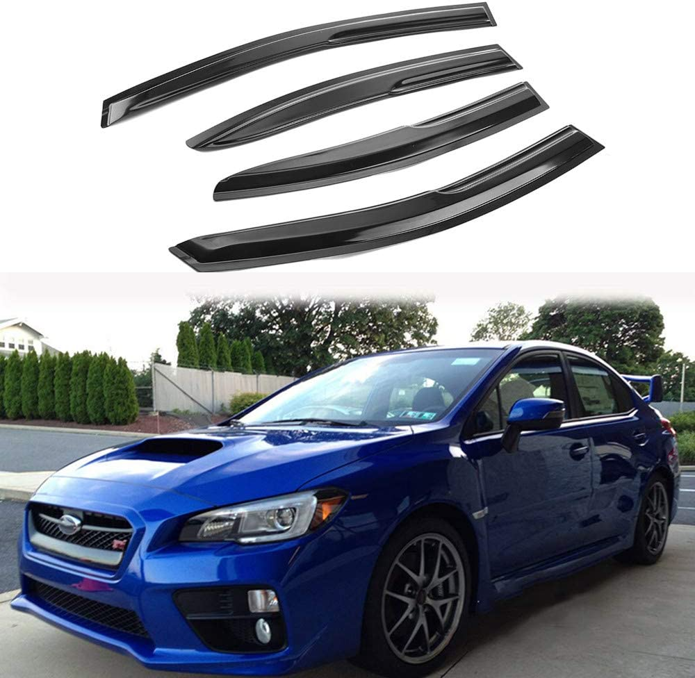 MotorFansClub 4PCS Window Visors Vent Fit Compatible Su Outlet SALE for with National products