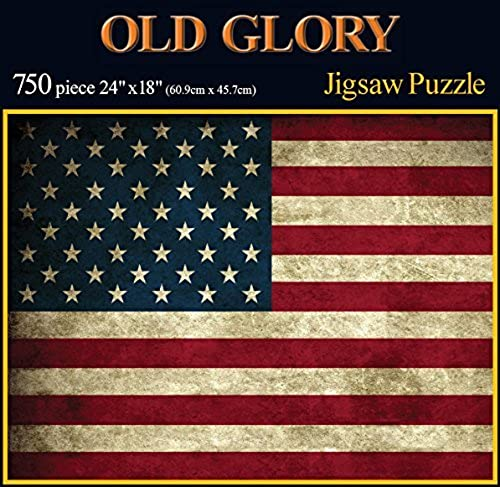 online barato Americana Souvenirs and Gifts Old Glory Glory Glory Rustic Flag Puzzle by Americana Souvenirs and Gifts  conveniente