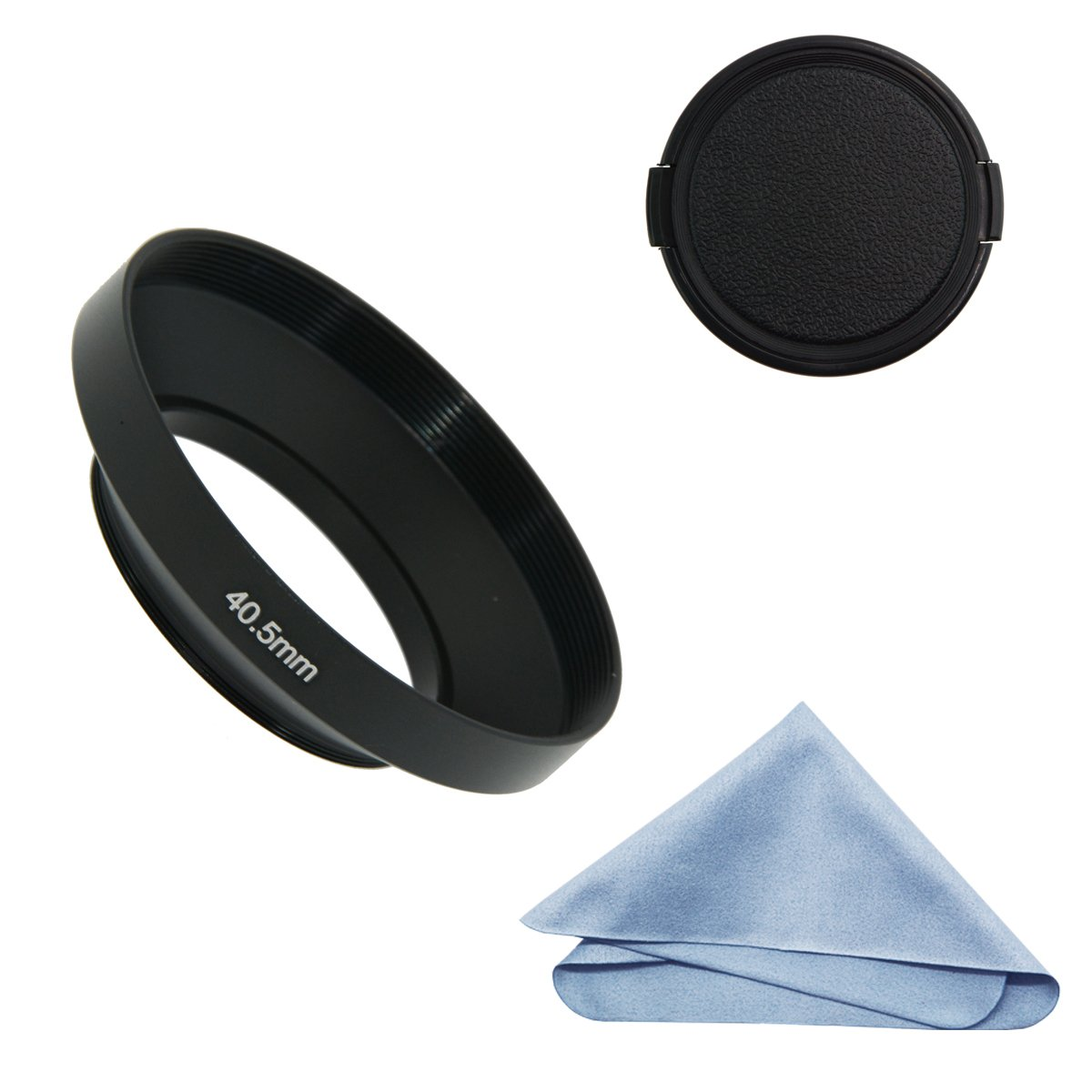 40.5mm Slim Wide Angle Vented Lens Hood for Sony E PZ 16-50 f//3.5-5.6 UK STOCK