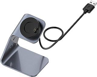 Moniclern Dock voor oplader, compatibel met Garmin Forerunner 745 / Garmin Venu Sq / Garmin Fenix6s houder voor oplader, d...