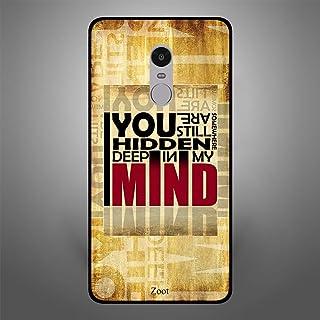 Xiaomi Redmi Note 4 You are Hidden in my Mind, Zoot Designer Phone Covers