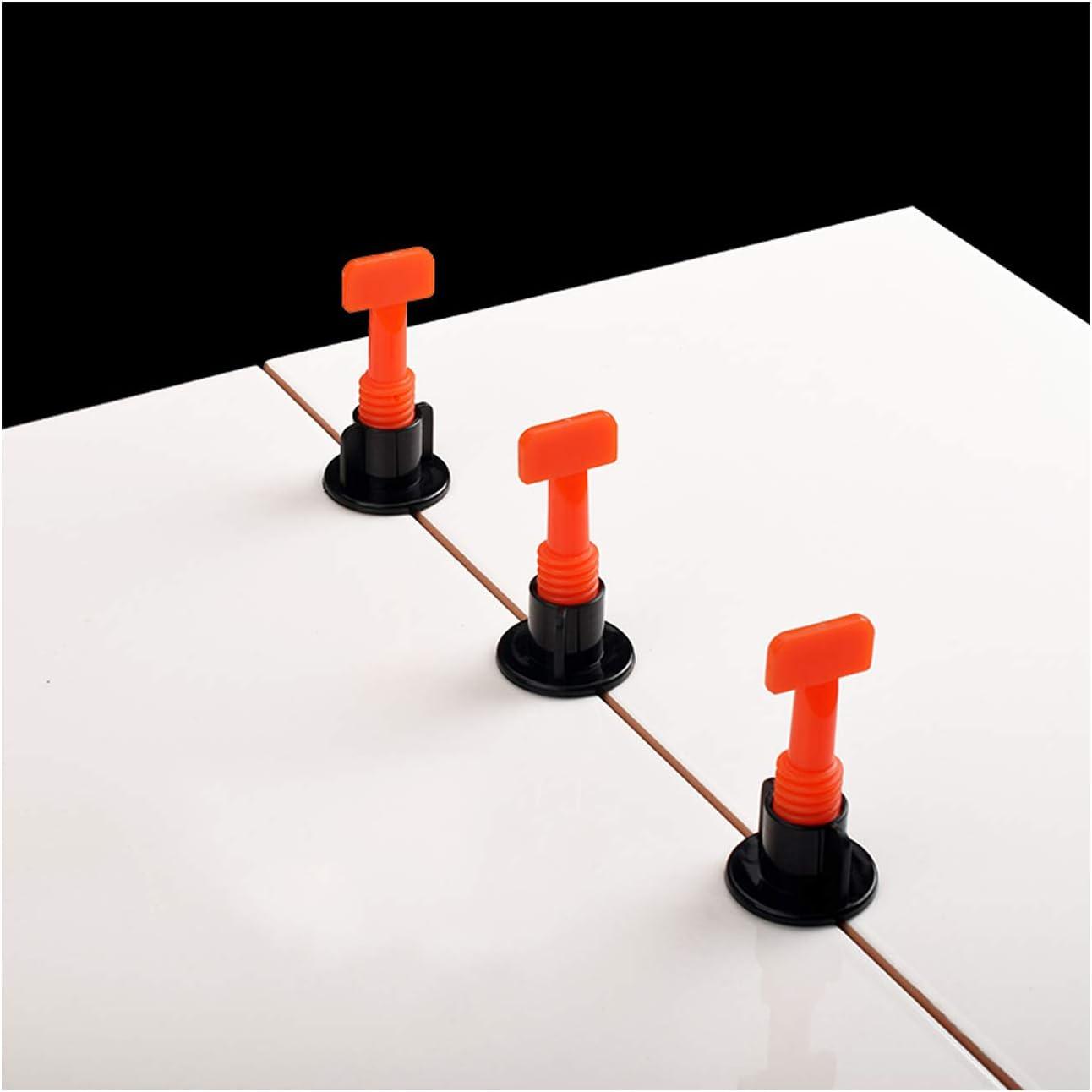 Wandfliesen Bauwerkzeug Dicke 1,5 mm Gr/ö/ße: 100 St/ück 1,5 mm Fliesenkeil-Set mit 100 Ersatz-Stahlnadeln f/ür Bodenfliesen