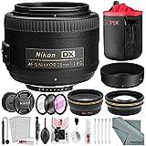 Nikon AF-S DX NIKKOR 35mm f/1.8G Lens, Deluxe...