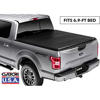 "Gator ETX Soft Tri-Fold Truck Bed Tonneau Cover | 59315 | Fits 2017 - 2020 Ford Super Duty 6' 9"" Bed 