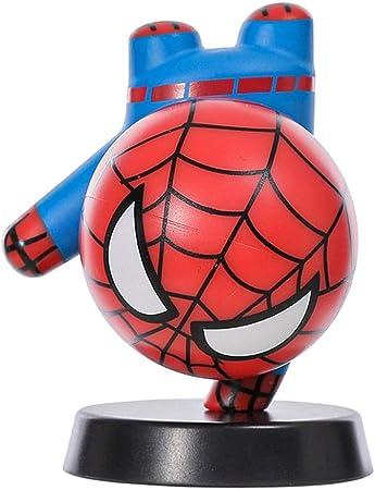 MINISO Marvel Decoration Figure Cute Superhero Playset for Desk Home Office,Spider-Man