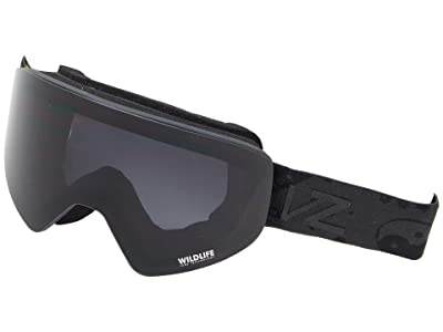 VonZipper Encore (Blackout Satin/Wildlife Blackout) Goggles