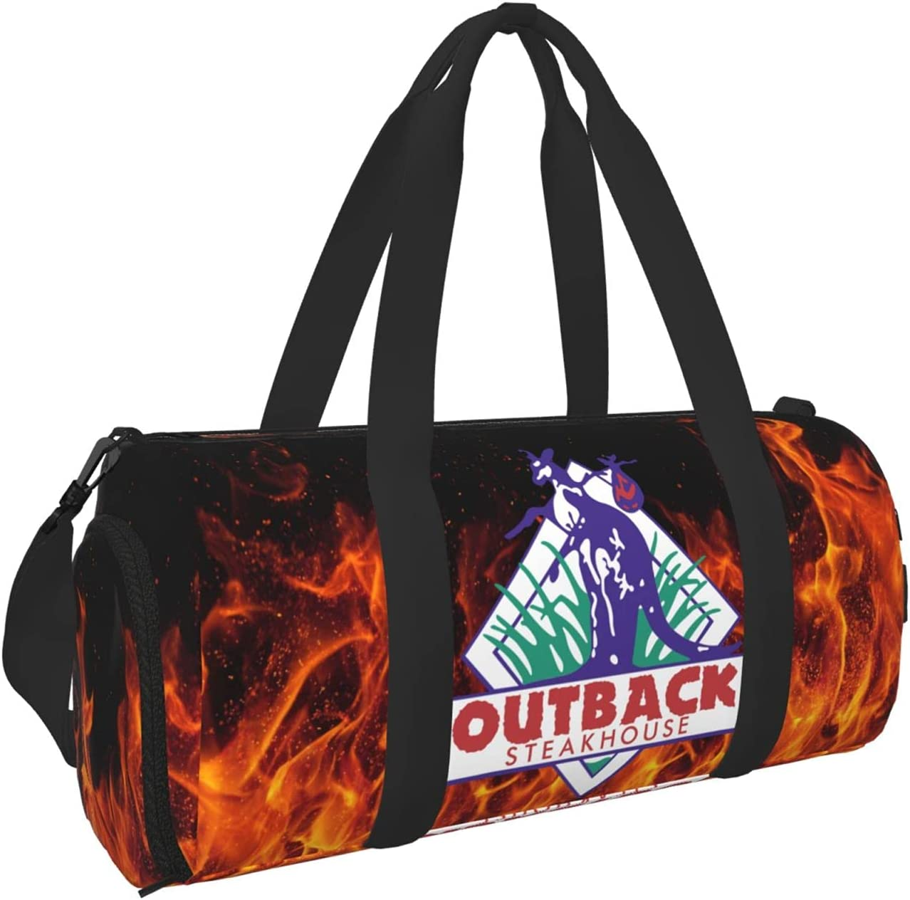 Outback Steakhouse Duffel Discount mail order Bag Sport Tot Bags Max 90% OFF Backpack Travel Gym