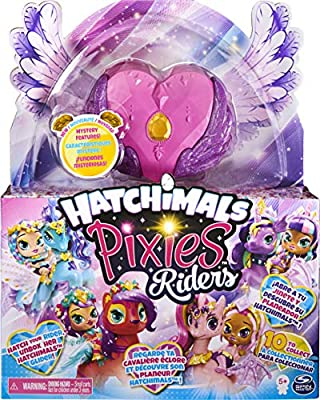 Hatchimals Pixies Riders, Hatchimal Set with Mystery Feature from Spin Master