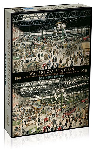 Gibsons Games Waterloo Station 1848-1948 - Gibsons Jigsaw Puzzle - 1000 Pieces by