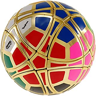 Calvin's Puzzles Traiphum Megaminx Ball - (12-Color) Metallized Gold