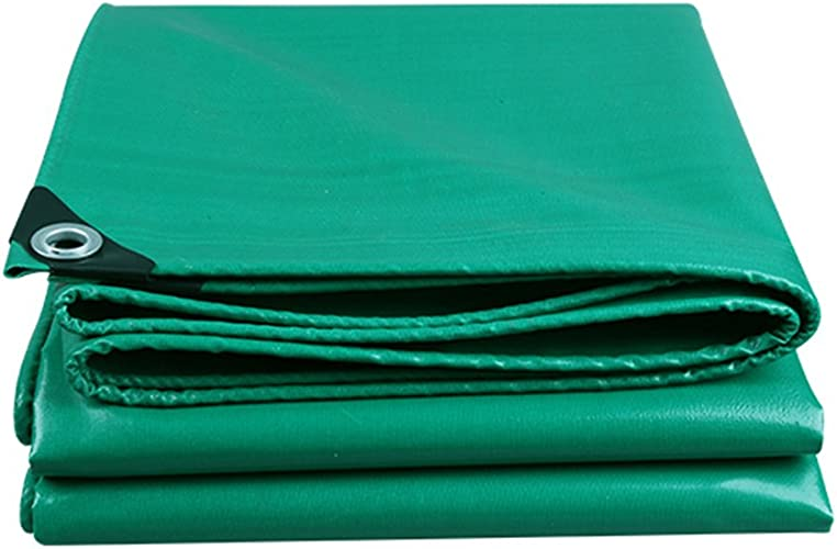 CLDBHBRK Duveteux Vert Tissu Ignifuge Imperméable, Crème Solaire, Tissu Ignifuge Tissu de Pluie De Plein air Toile de Hangar Tissu de Camion Sun Shield PVC,400  400cm