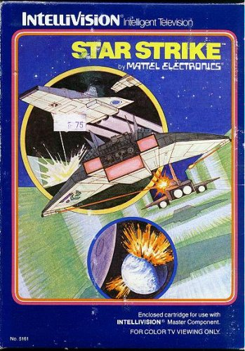 INTELLIVISION STAR STRIKE GAME COMPLETE SET (COMES WITH ORIGINAL BOX, INSTRUCTIONS, AND VIDEO GAME CARTRIDGE) (INTELLIVISION STAR STRIKE GAME COMPLETE SET (COMES WITH ORIGINAL BOX, INSTRUCTIONS, AND VIDEO GAME CARTRIDGE), INTELLIVISION STAR STRIKE GAME COMPLETE SET (COMES WITH ORIGINAL BOX, INSTRUCTIONS, AND VIDEO GAME CARTRIDGE))