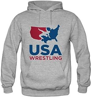 USA Wrestling Mens hoody Sweatshirt