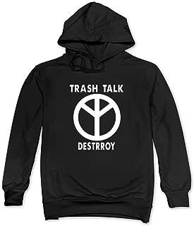NBS Hoodies Mans Trash Talk Band Logo Hoodie