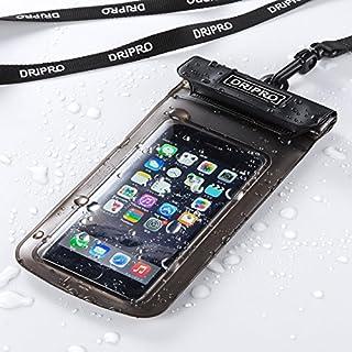 サンワダイレクト iPhone スマホ防水ケース 4.7インチ対応 iPhone SE / iPhone6s IPX8対応 アームバンド&ネックストラップ付属 200-SPC005WP