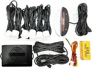 FENNGG Capteurs de stationnement de Voiture de recul arri/ère 4 capteurs Kit Audio Buzzer Alarme Affichage LED Car Parking Sensors