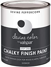 Valspar 104.0030753.005 Chalky Finish Paint, Peppercorn