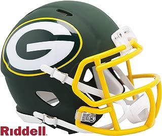 Green Bay Packers - AMP Alternate Speed Riddell Mini Football Helmet - New in Riddell Box