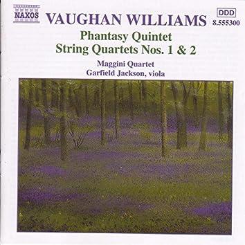 VAUGHAN WILLIAMS: Phantasy Quintet / String Quartets Nos. 1-2