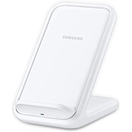 SAMSUNG 15W Fast Charge 2.0 Wireless Charger Stand - White (US Version with Warranty