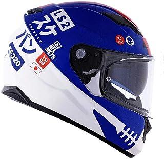 Capacete LS2 FF320 Stream Sukeban Branco Azul Verm