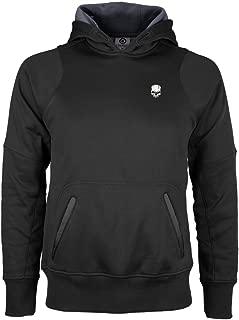 Black Hoody w//Skull Logo Charlie Delta Tactical Mens Hooded Cross Trainer