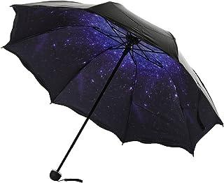 AuppovaTravel Parasol Folding Rain Windproof Umbrella Folding Anti-UV Sun/Rain Umbrella,Umbrella Windproof, Umbrella For Uutdoor