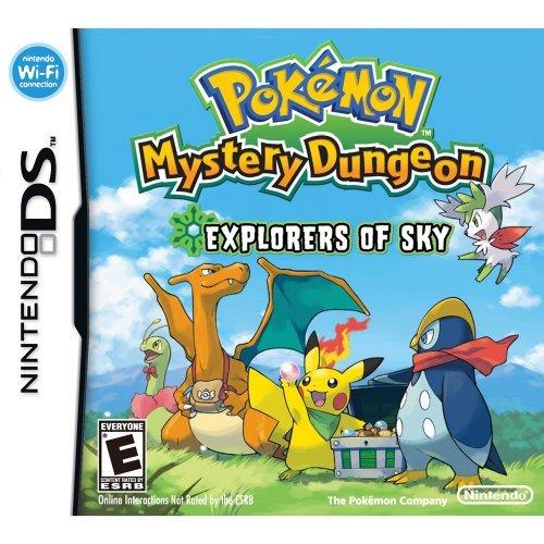 Nintendo Pokemon mystery dungeon explorers of the sky, SD