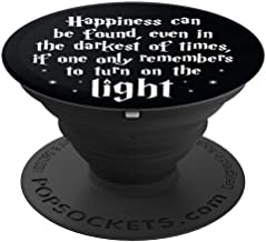 Brave New Look Happiness In Dark Times Pop Sockets Stand for Smartphones and Tablets - PopSockets Grip and Stand for Phones and Tablets