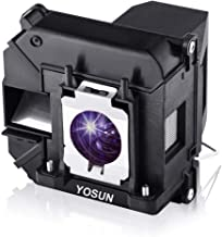YOSUN v13h010l68 Projector Lamp Bulb for Epson Elplp68 PowerLite Home Cinema 3020 3010 3020e 3010e h450a h421a Replacement Projector Lamp Bulb