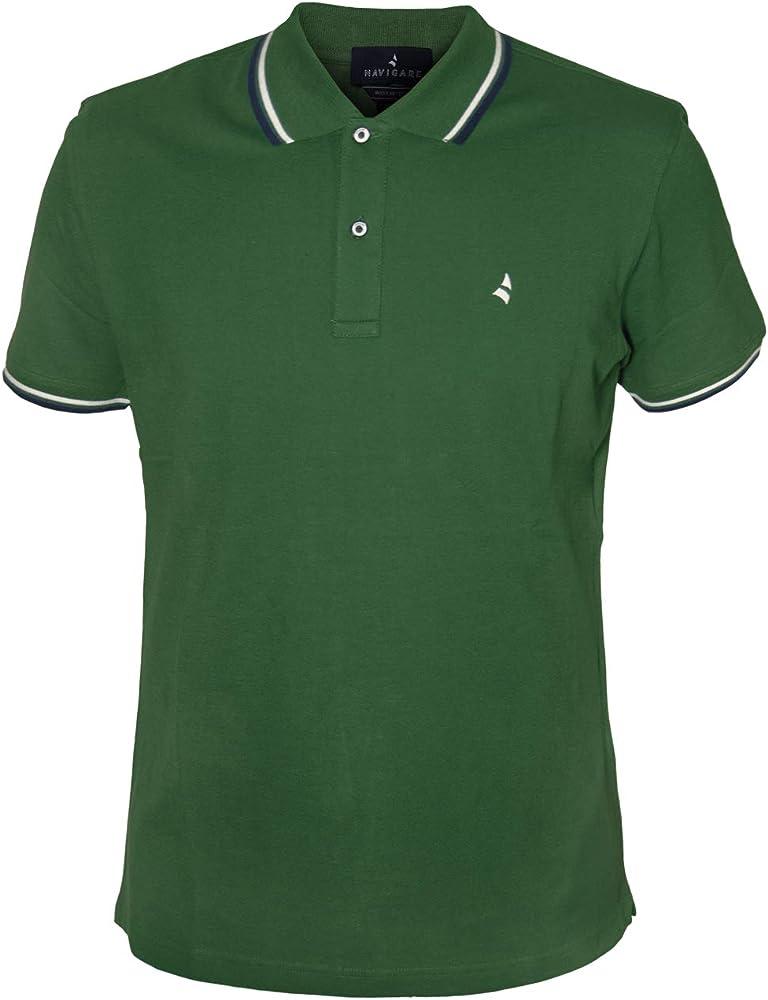 Navigare polo maglietta a maniche corte da uomo 100% cotone PoloNav82110_3_0