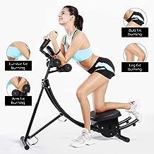 AVNDDD Adjustable Abdomen Machine 3 Adjusting Lazy Ab Trainer Workout Bench Fitness Equipment for Home Gym Black US Warehouse